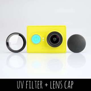 Xiaomi Xiaoyi Action Cam UV Filter + Lens Cap