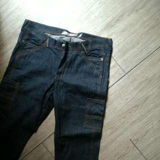 雜牌褲  日本yankee感 買來一次都沒穿 36腰