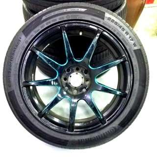 "Used Second Hand Tire And R17"" Rims"