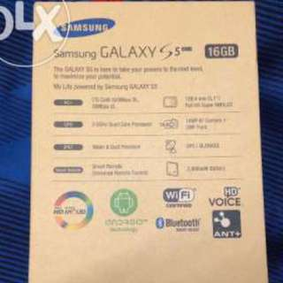 Samsung Galaxy S5 4g Plus
