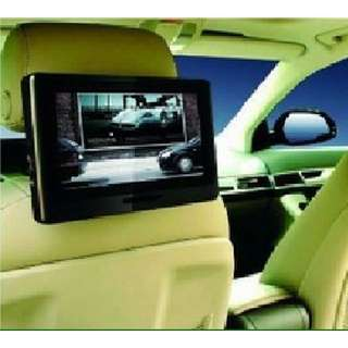 "New 9"" Touch Screen Headrest DVD Player"
