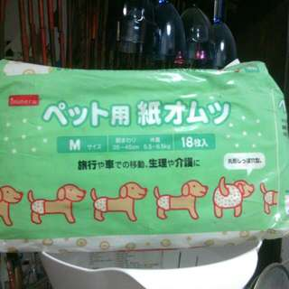 Inuneru日製狗狗纸尿裤中型犬用