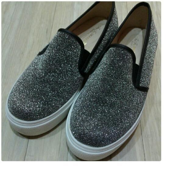 ★全新★銀灰色便鞋