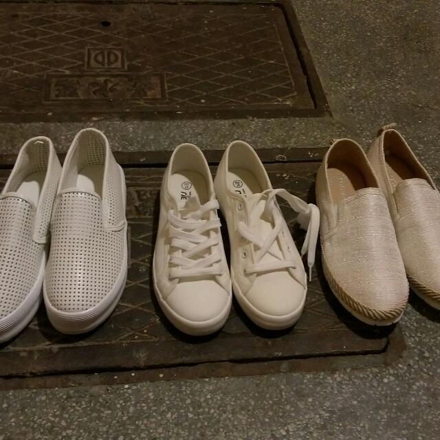 夏天必備白鞋