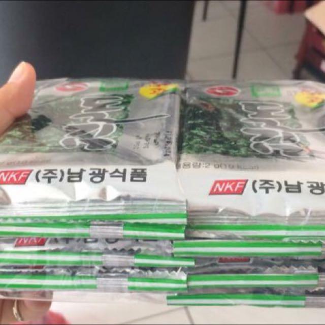 韓國進口 海苔