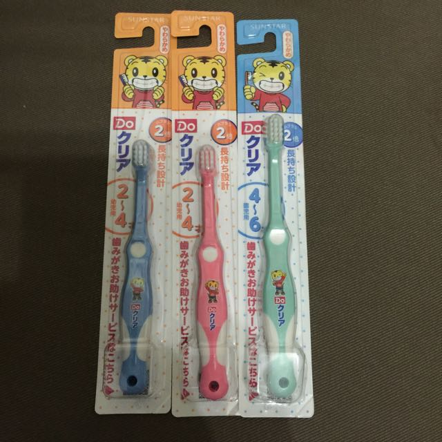 日本帶回 巧虎牙刷 2-4歲 4-6歳