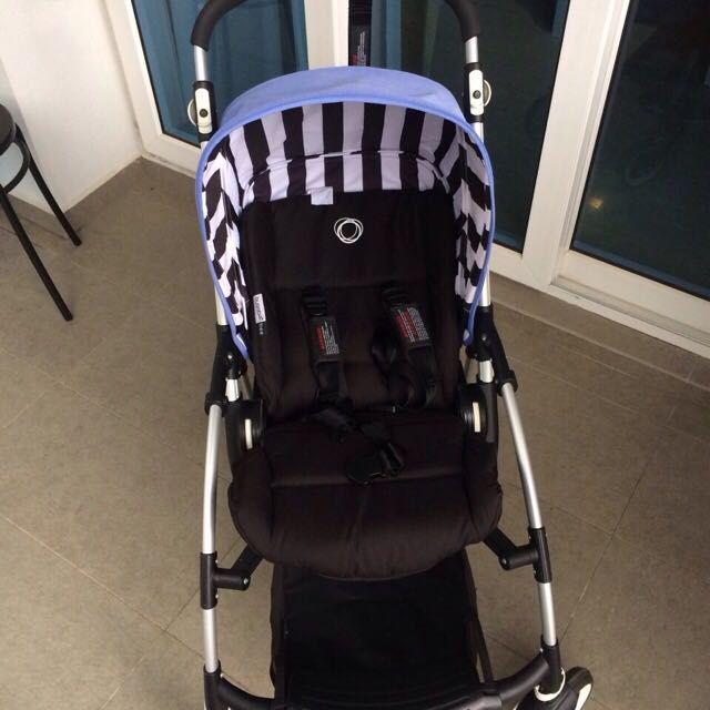 Bugaboo Bee Plus 2013 Limited Edition Jewel Blue Canopy
