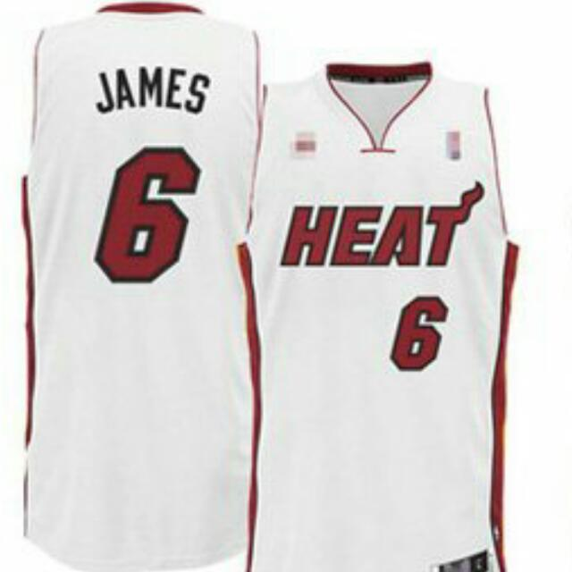 2e41a76e472 NBA MIAMI HEAT LEBRON JAMES JERSEY