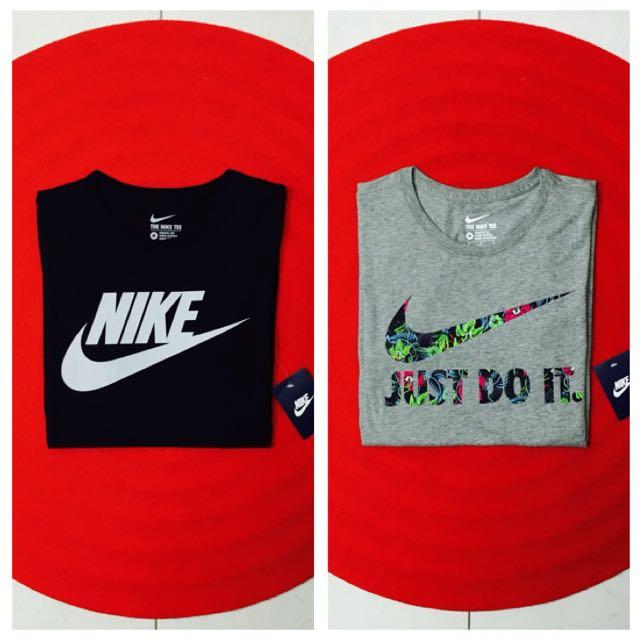 Nike 完售款 花卉 T恤 短T 黑白 灰底
