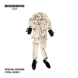 BIGBANG [STILL ALIVE] 台灣獨占限定盤+內附T.O.P高質感寫真冊(T.O.P版)