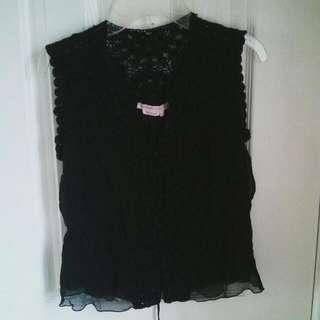 MAXAZARIA Collection Shirt/tank top Color: Carbon Black Size: XS Condition: Good