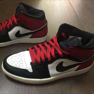 Nike Air Jordan 1 BMP 07年黑頭 喬丹 aj1 球鞋 籃球