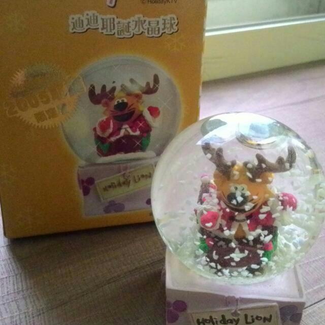 好樂迪2005耶誕限定水晶球