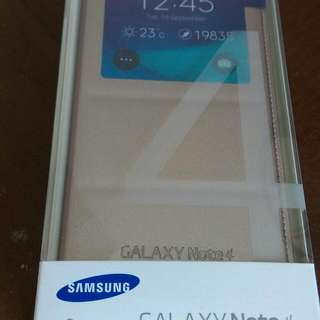 (Brand New) - Original Note 4 S-View Cover from Telco