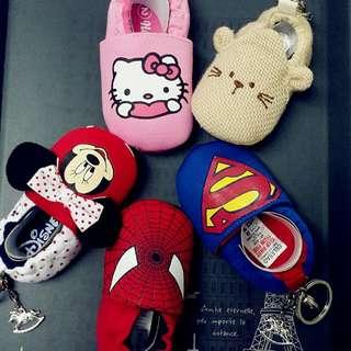 手作寶寶鞋鑰匙掛飾
