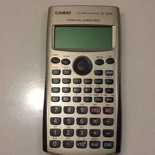 Financial Calculator Casio FC-100V