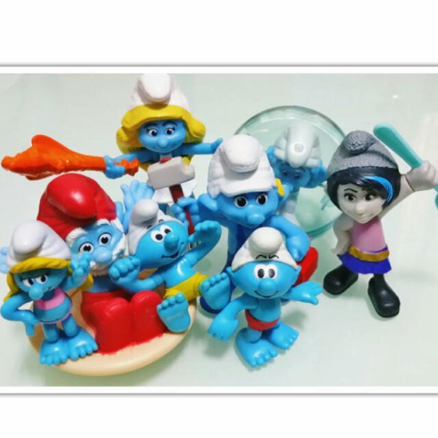 藍色小精靈公仔