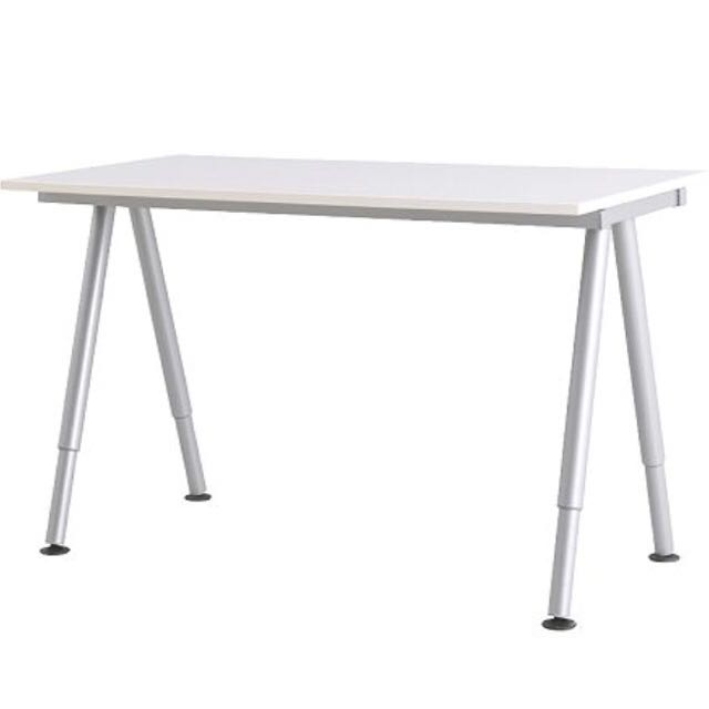 Ikea Galant Table Top With Height Adjule Legs Preloved Furniture On Carou