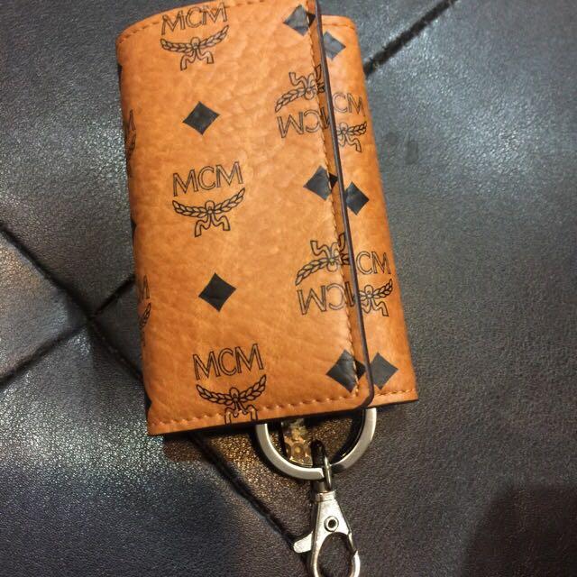 Mcm 經典鑰匙包 全新