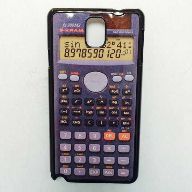 Samsung Note 3 Calculator Phone Casing