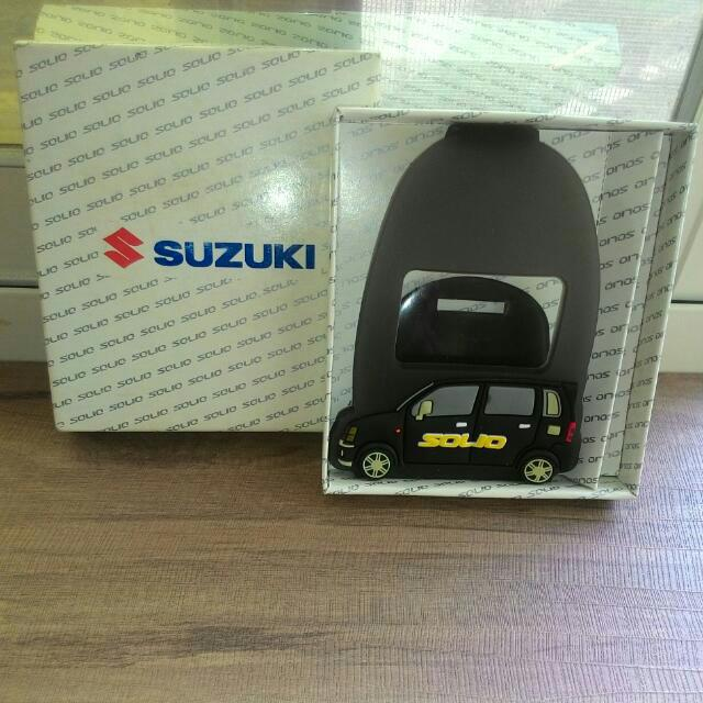 SUZUKI-solio車款復古手機座