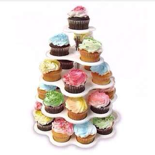 5 TIER CUPCAKE STAND