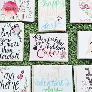 Hand-drawn Greeting Cards 🎀
