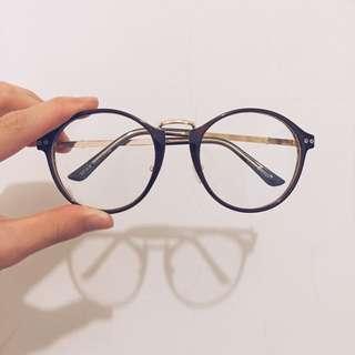 復古設計風眼鏡