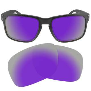 d3b48dd7222 Dynamix Violet Purple Polarized Replacement Lenses For Oakley Holbrook  Sunglasses