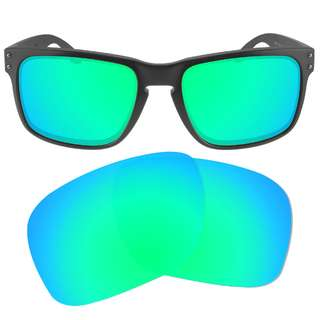 d02235cffe9 Dynamix Emerald Green Polarized Replacement Lenses For Oakley Holbrook  Sunglasses
