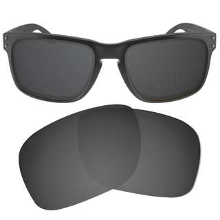 b571037c066 Dynamix Solid Black Polarized Replacement Lenses For Oakley Holbrook  Sunglasses