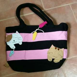 Reduced Price !!!!!brand new bag with cat