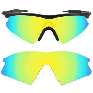 50ebfc7faf Dynamix 24K Gold Polarized Replacement Lenses For Oakley M Frame Sweep