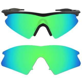 ec61aa2184 Dynamix Emerald Green Polarized Replacement Lenses For Oakley M Frame Sweep