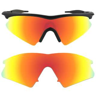 20495fab6c Dynamix Fire Red Polarized Replacement Lenses For Oakley M Frame Sweep