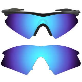 11a99e7117 Dynamix Ice Blue Polarized Replacement Lenses For Oakley M Frame Sweep
