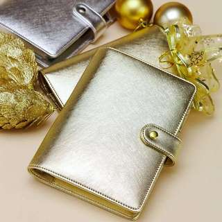 Dokibook Diary Silver N Gold Series