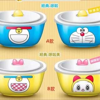 哆啦A夢+哆啦美 經典款 45週年 美味陶瓷碗