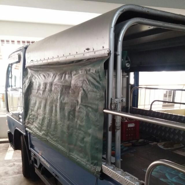 Lorry Canopy Only *For 10ft Lorry & squeezyu0027s items for sale on Carousell