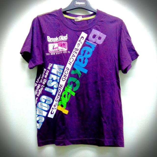 深紫個性T