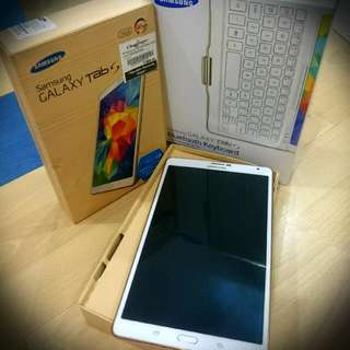 Samsung Galaxy Tab S LTE (4G) (Dazzling White Colour) 16GB