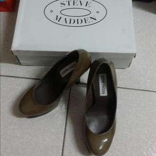 Steven Madden 高跟鞋 (咖啡灰)