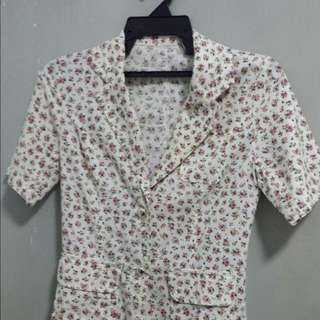 Vintage Country Floral Shirt