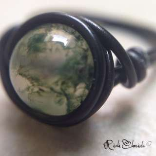 Indian Agate Storm Ring