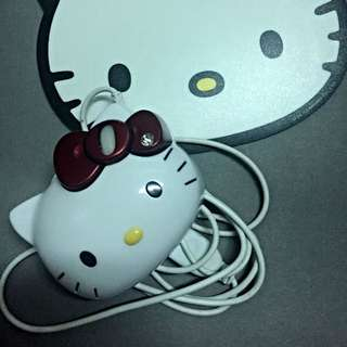 Hello Kitty 滑鼠墊➕滑鼠