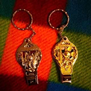 Disney 指甲鑰匙圈