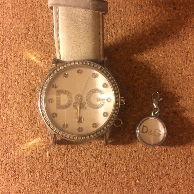 D&G 白鑽錶