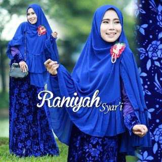 Dress Ummi Raniyah Syari