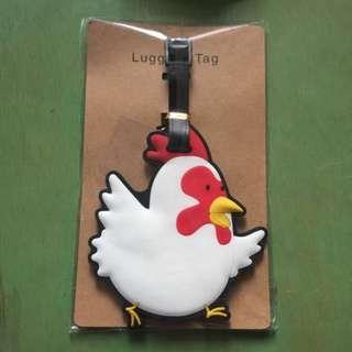 ADORABLE LUGGAGE TAG! #Chicken