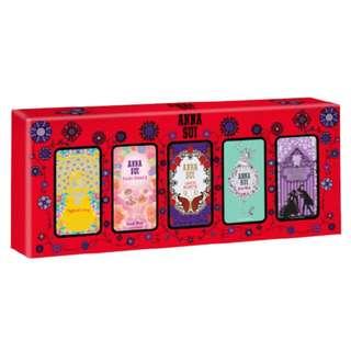 Anna Sui 5 Piece Miniature EDT Collection
